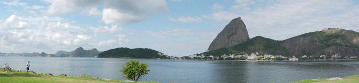 View of Sugar Loaf from another angle - Botafogo, Rio